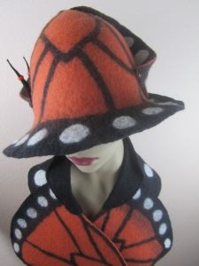 Monarch by Sarah Lajoie of Attitude Hats